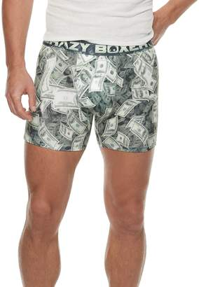 Men's Crazy Boxer Money Novelty Boxer Briefs