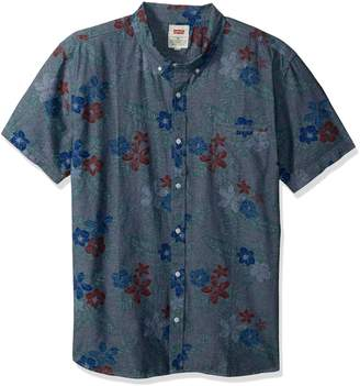 Levi's Men's Ozo Tropical Short Sleeve Woven Shirt