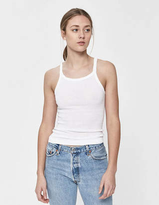 RE/DONE Basic Ribbed Tank
