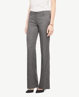 Ann Taylor The Tall Trouser In Sharkskin - Curvy Fit