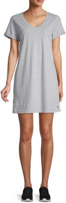 Calvin Klein Short-Sleeve Cotton T-Shirt Dress