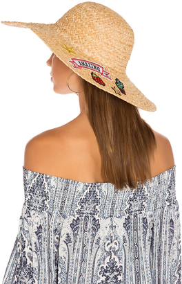Hat Attack Patch Sunhat $96 thestylecure.com