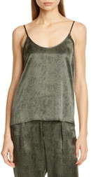 ATM Anthony Thomas Melillo Snake Print Silk Camisole