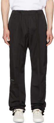 Fear Of God Black Nylon Baggy Lounge Pants