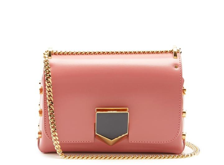 Jimmy ChooJIMMY CHOO Lockett Petite leather shoulder bag