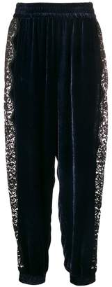 Stella McCartney lace panel track pants