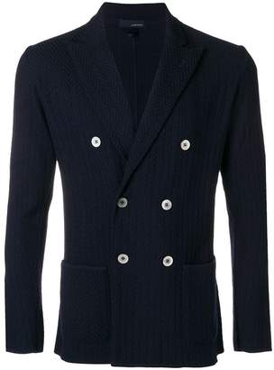 Lardini double breasted blazer