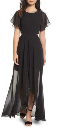 Ali & Jay Bohemian Rhapsody High/Low Maxi Dress