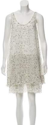 See by Chloe Sleeveless Printed Mini Dress w/ Tags