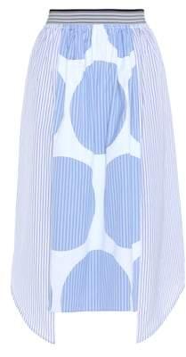 Stella McCartney Marianna printed cotton midi skirt
