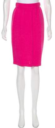 St. John Knee-Length Pencil Skirt