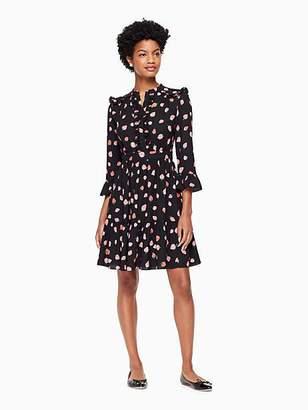 Kate Spade Tossed berry shirtdress