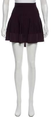 A.L.C. Pleated Mini Skirt