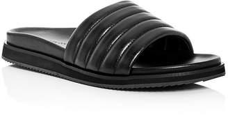 Kenneth Cole Men's Story Leather Slide Sandals
