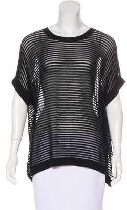 AllSaints Semi-Sheer Knit Top