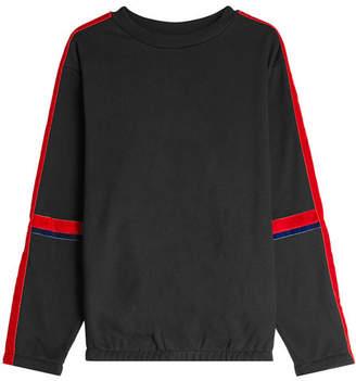 Public School Cotton Sweatshirt with Velvet