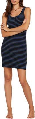 Volcom Lil Stripe Body-Con Minidress