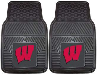 Fanmats FANMATS 2-pk. Wisconsin Badgers Car Floor Mats