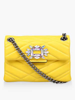 Kurt Geiger London Mini Mayfair Leather Cross Body Bag