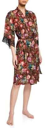 Lise Charmel Corolle Fauve Lace-Trim Robe