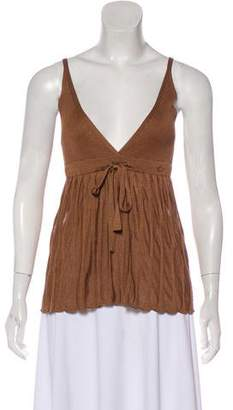 Chanel Silk Sleeveless Top