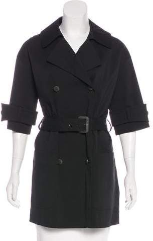 Fendi Lightweight Short Coat