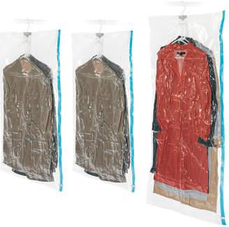 Whitmor Set Of 3 Spacesaver Hanging Bags