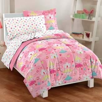 Factory Dream Pretty Princess Ultra Soft Microfiber Girls Comforter Set