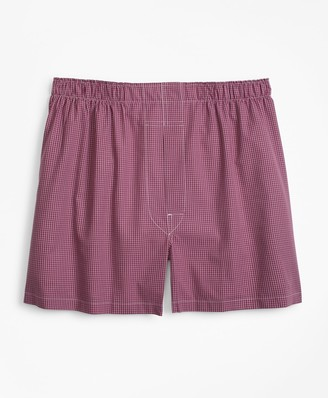 Brooks Brothers Traditional Fit Ground Check Boxers