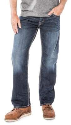 Silver Jeans Gordie Whiskered Stretch Jeans