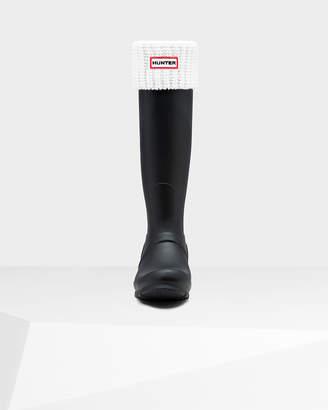 Hunter Half Cardigan Stitch Boot Socks