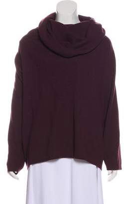 Nicole Farhi Virgin Wool Cowl Sweater