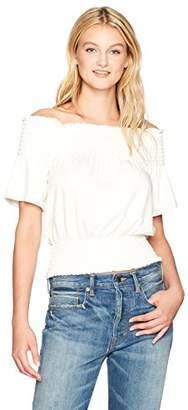 Plenty by Tracy Reese Women's Smocked Sweatshirt