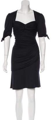 Ungaro Ruched Knee-Length Dress