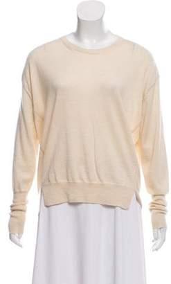 Giorgio Armani Slit-Accented Cashmere Sweater