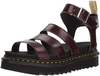 Dr. Martens Women's Vegan Blaire Cambridge Fisherman Sandal,8 Medium UK (10 US)