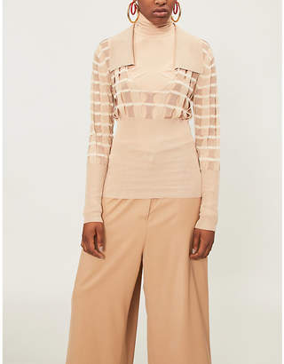 Jacquemus Cutout knitted jumper