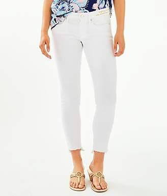 "Lilly Pulitzer 28"" South Ocean Skinny Jean - Crop"
