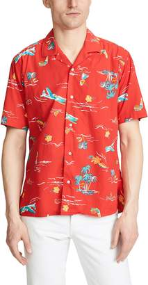 Gitman Brothers Airplane Button Down Shirt