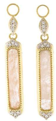Jude Frances 18K Diamond & Rose Quartz Earring Charms