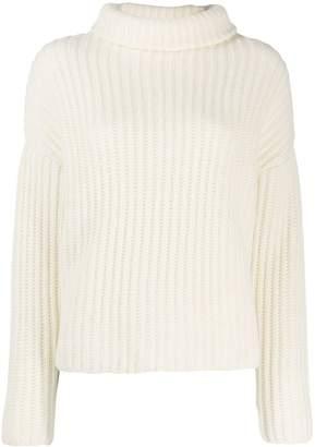 Dusan knitted roll neck jumper