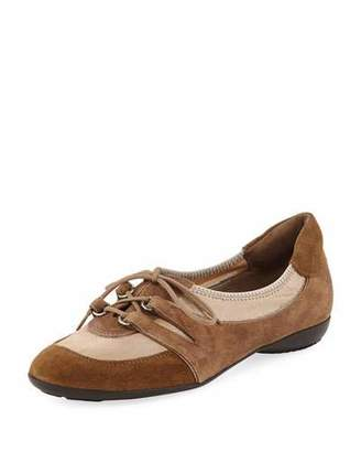 Sesto Meucci Bonnie Stretch Mixed Sneakers, Camel
