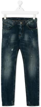 John Richmond Junior TEEN distressed jeans