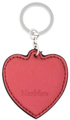 Max Mara Logo Heart Keychain w/ Tags