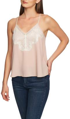 1 STATE 1.STATE Lace Trim Camisole