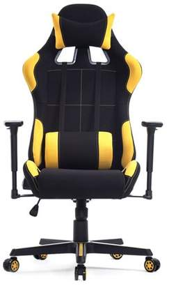 Hill ICOCO Swivel Gaming Chair Racing Style Leather Racing Chair for Gaming High Back Reclining Ergonomic Home Office Desk Chair