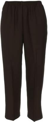 Alfred Dunner Petites' Pull-on Flat-Front Pants 18P Short