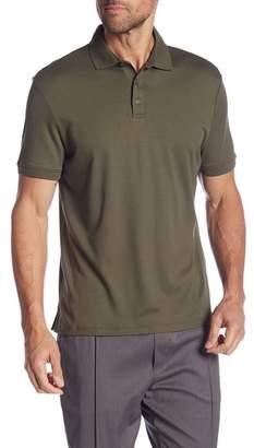 Calvin Klein Solid Short Sleeve Polo