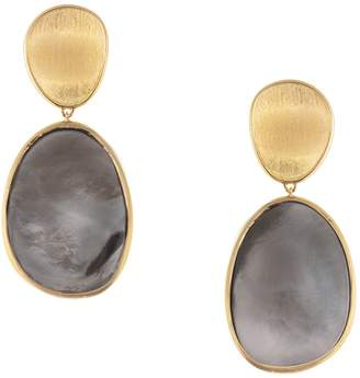 Marco Bicego Yellow Gold Lunaria Two-Drop Earrings