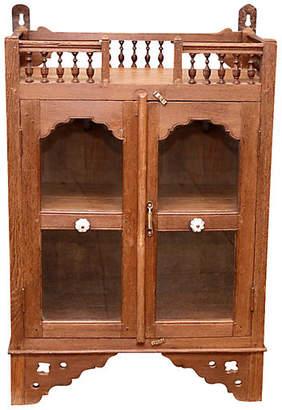 One Kings Lane Vintage Antique British Colonial Altar Cabinet - de-cor
